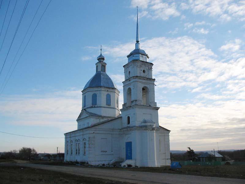 Храм Архистратига Михаила. Симбухово. Пензенская область